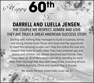Darrell and Luella Jensen