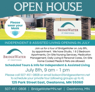 Independet & Assisted Living Opening In July