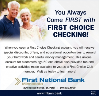 First Choice Checking