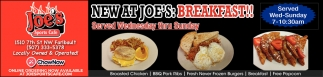 New At Joe's Breakfast