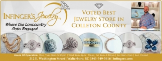 Voted Best Jewelry Store In Colleton County