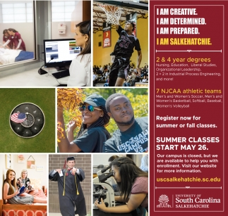Summer Classes Start May 26.