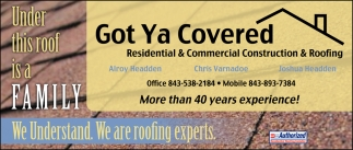 More Than 40 Years Experience!