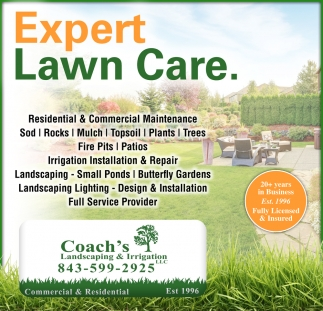 Expert Lawn Care.