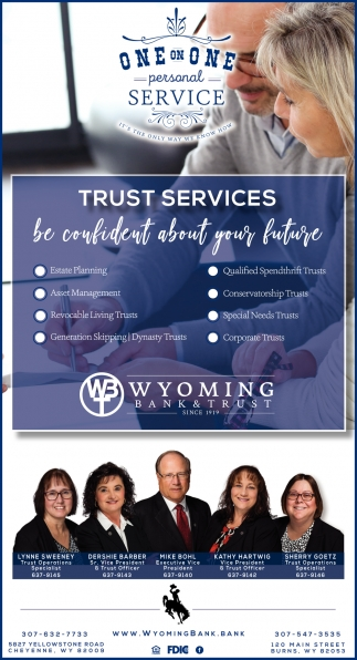 Trust Services be Confident About Your Future