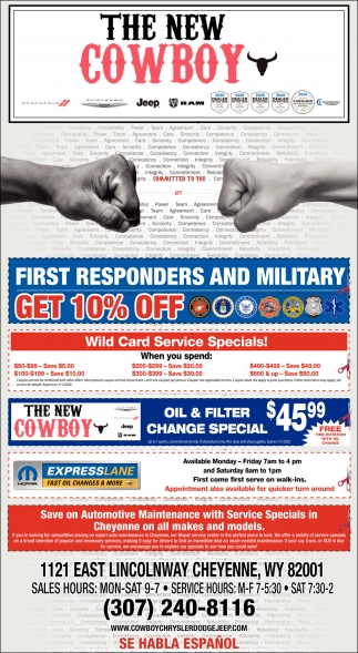 First responders and Military Get 10% OFF