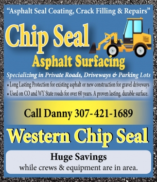 Asphalt Seal Coating, Crack Filling & Repairs