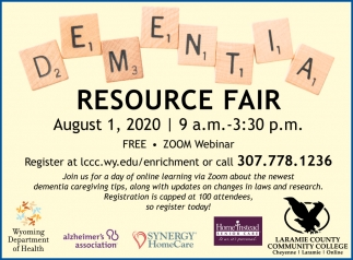 Dementia Resource Fair