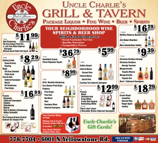 Your Neighborhood Wine Spirits & Beer Shop