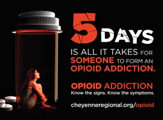 5 Days is All it Takes for Someone to Form an Opioid Addiction