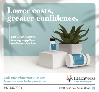 Lower Costs, Greater Confidence