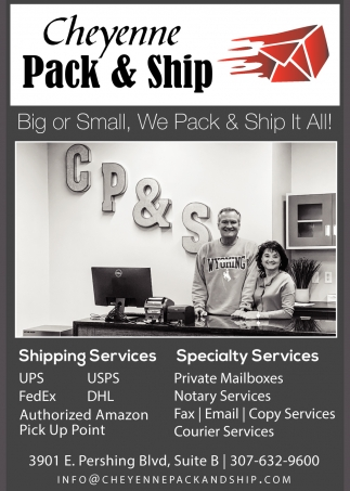 Big or Small, We Pack & Ship it All!