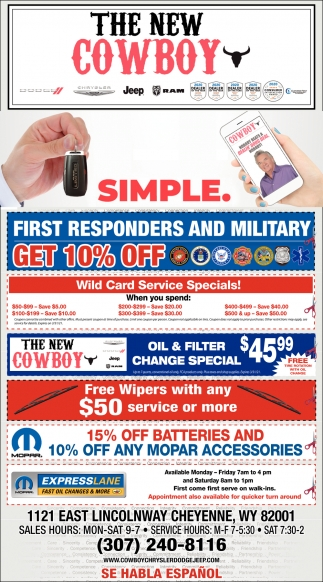 First Responders and Military