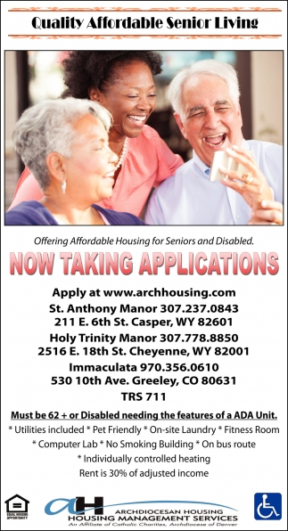Quality Affordable Senior Living