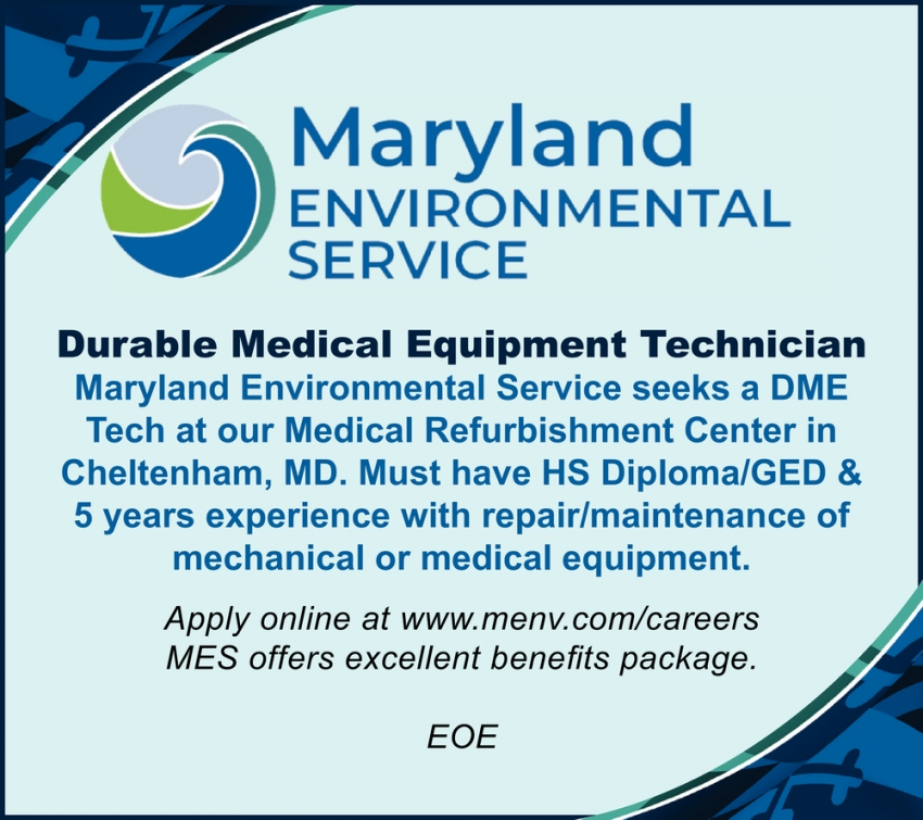 Durable Medical Equipment Technician Needed