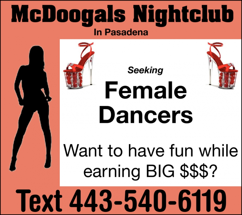 Seeking Female Dancers