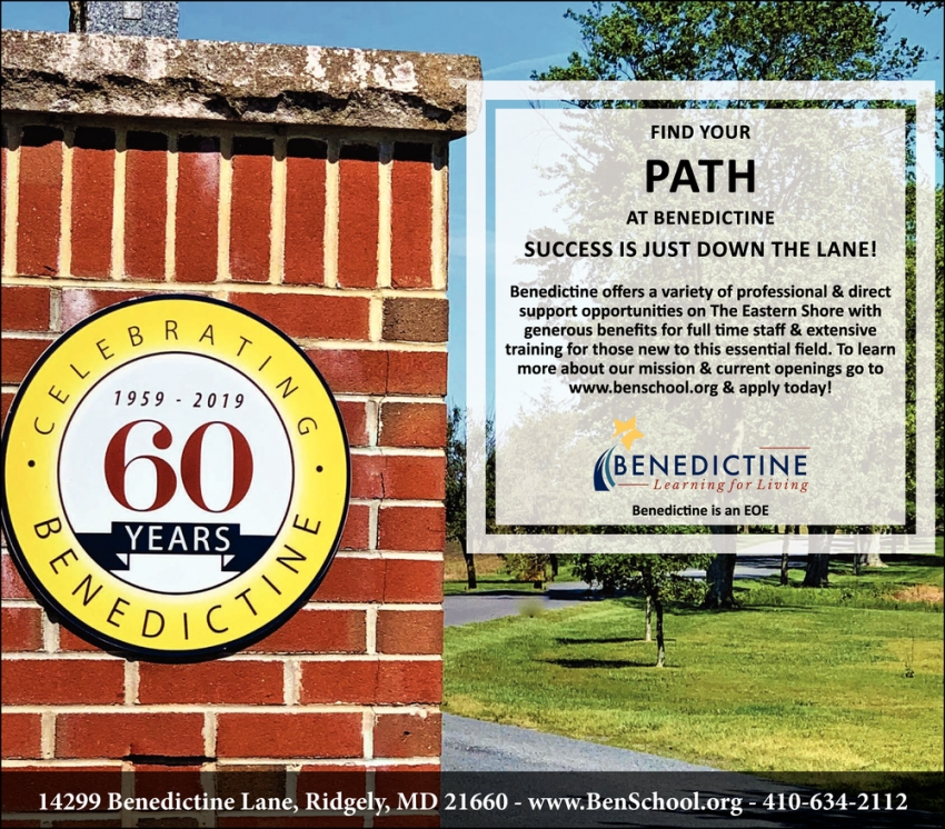 Find Your Path At Benedictine
