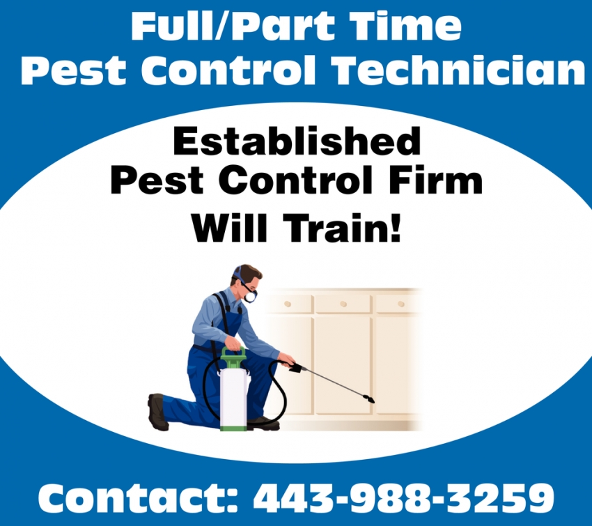 Full/Part Time Pest Control Technician