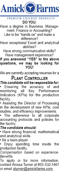 Plant Controller Needed