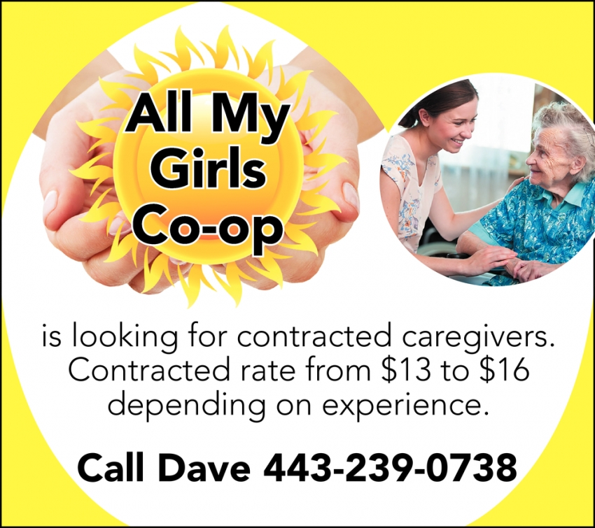 Caregivers Needed
