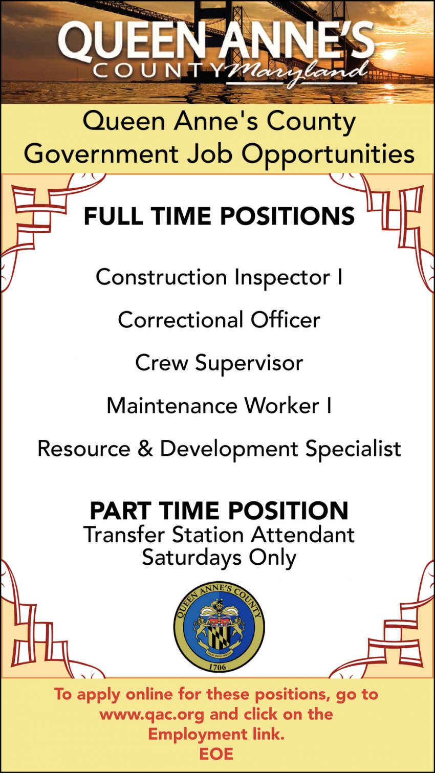 Full Time Positions