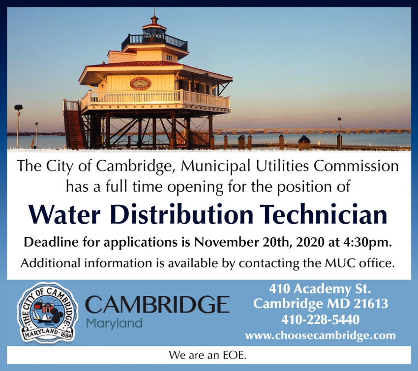 Water Distribution Technician