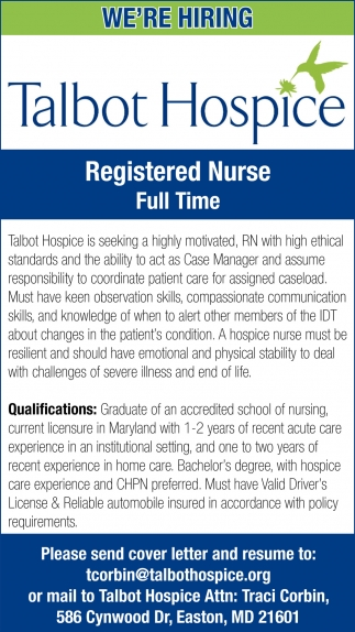 Registered Nurse Full Time