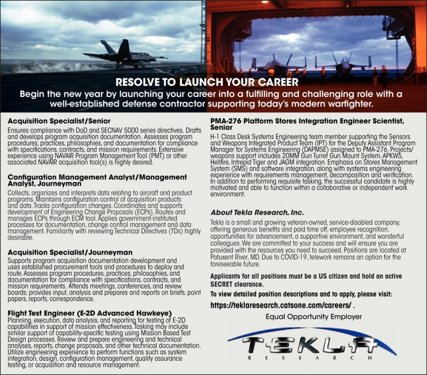 Resolve To Launch Your Career