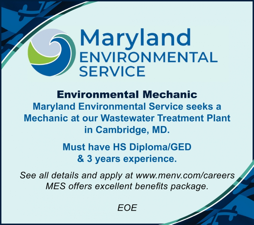 Environmental Mechanic Needed