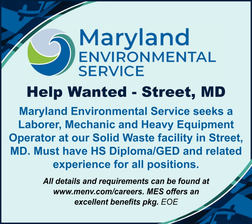 Help Wanted - Street, MD