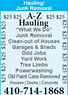 Junk Removal - Garage & Sheds - Odd Jobs