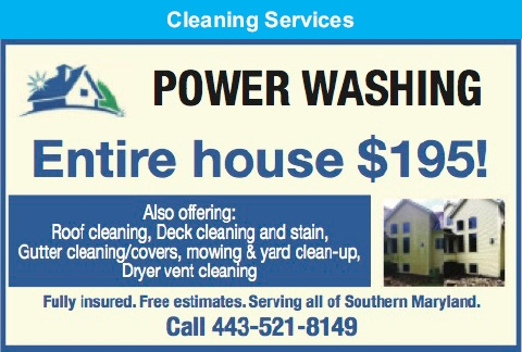 Power Washing Entire House $195!
