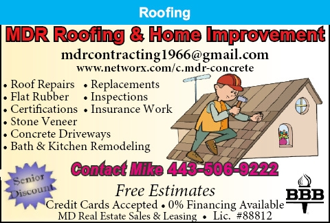 Roof Repairs - Replacements - Flat Rubber- Inspections