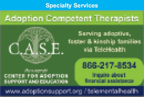 Adoption Competent Therapists