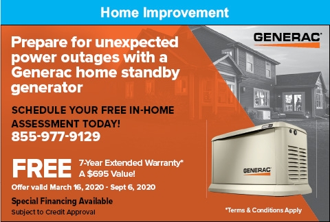 Prepare For Unexpected Power Outages With A Generac Home Standby Generator
