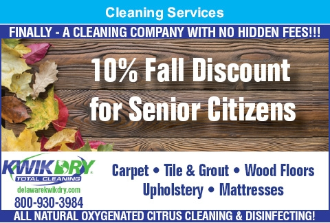 10% Fall Discount For Senior Citizens