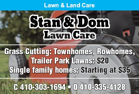 Grass Cutting: Townhomes, Rowhomes. Trailer Park Lawns: $20