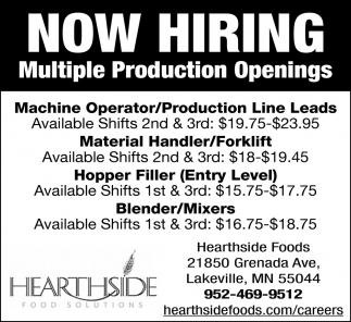 Multiple Production Openings