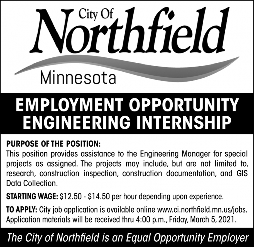 Engineering Internship