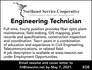 Engineering Technician