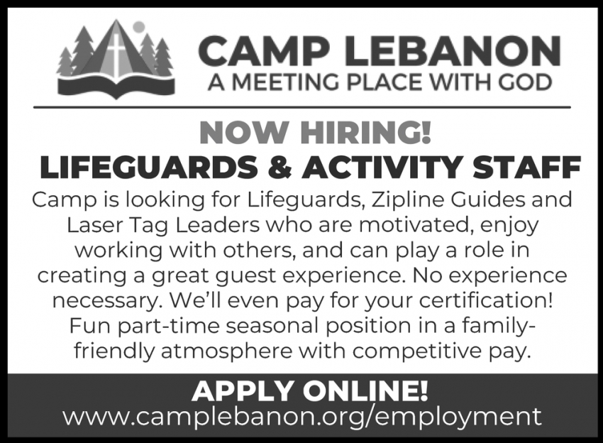 Lifeguards & Activity Staff