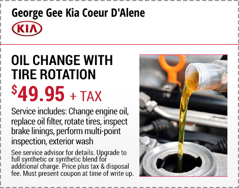 Oil Change With Tire Rotation. Print Coupon