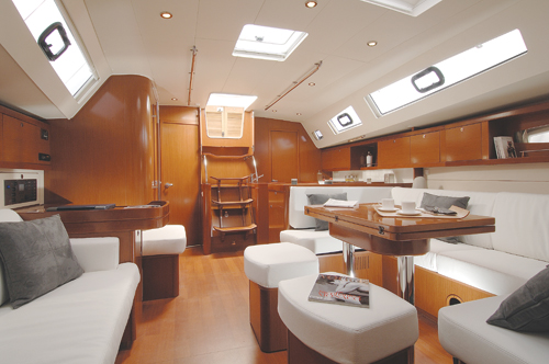 Beneteau Oceanis 50 Review by Canadian Yachting