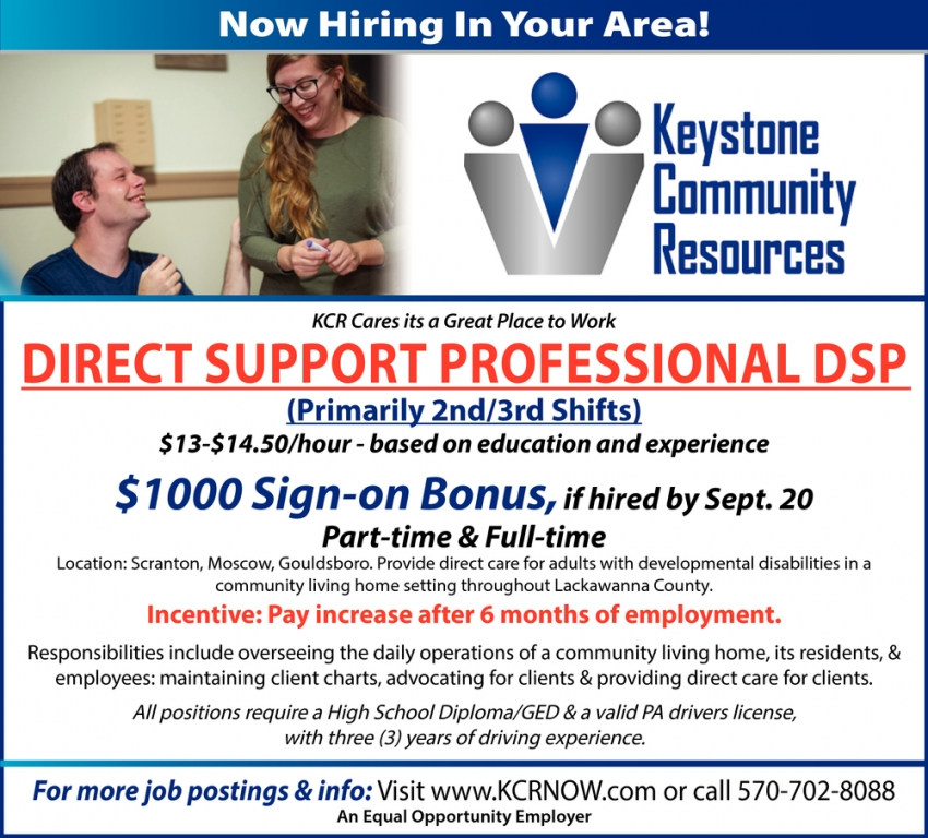 Direct Support Professional DSP