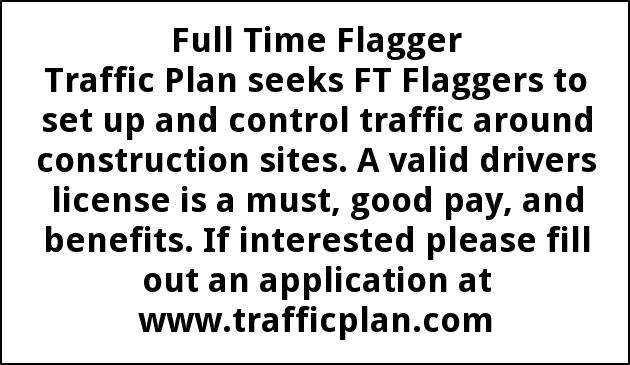 Flagger Full Time