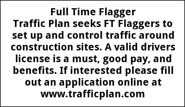 Full Time Flagger