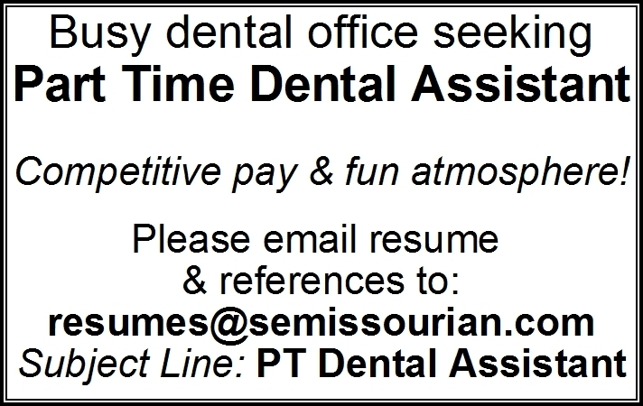 Part Time Dental Assistant
