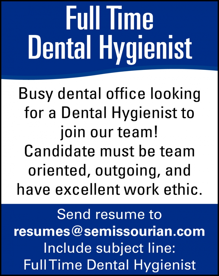 Dental Hygienist