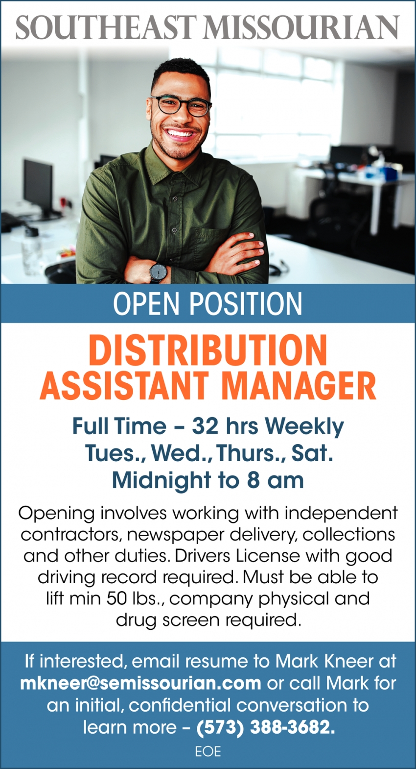 Distribution Assistant Manager