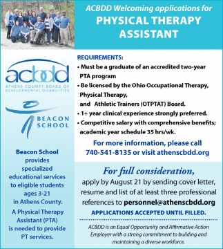 Physical Therapy Assistant Needed